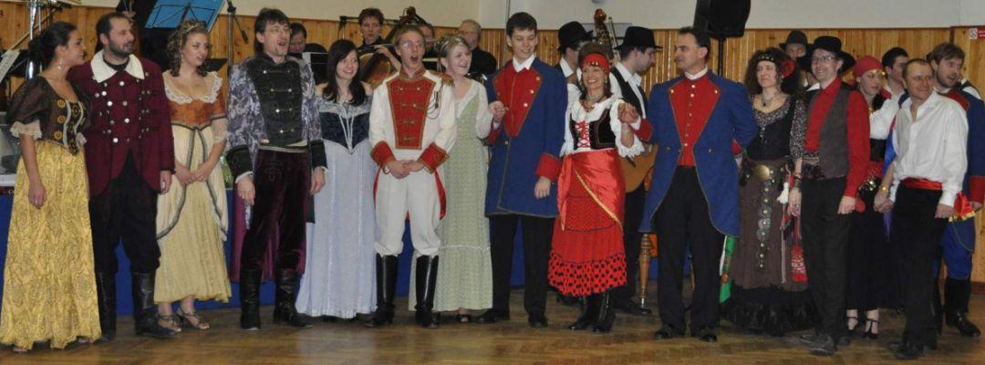 2010 * Cikánský baron na 16. divadelním bále dne 6. února 2010