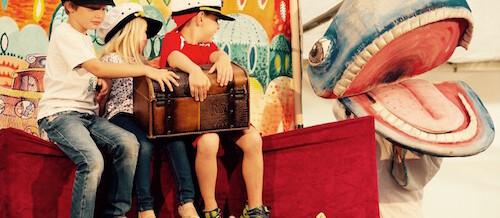Rodiče s dětmi do divadla